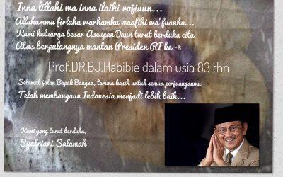 Selamat Jalan, Bapak Teknologi Indonesia